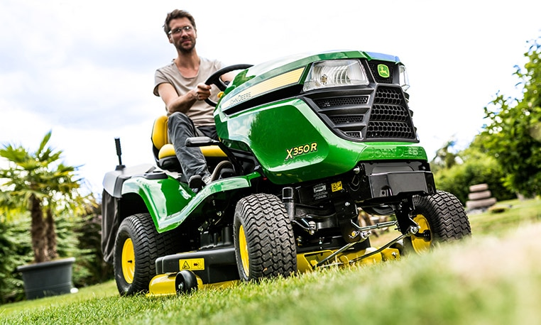 John Deere Serie X300 Next-level perfection