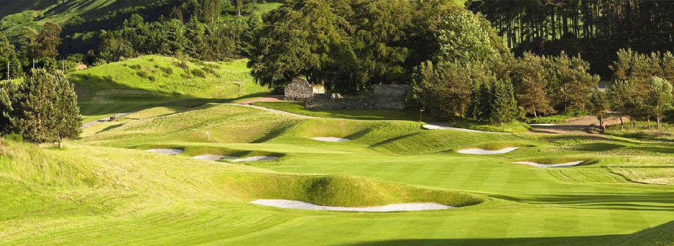 Gleneagles, Golfplatz