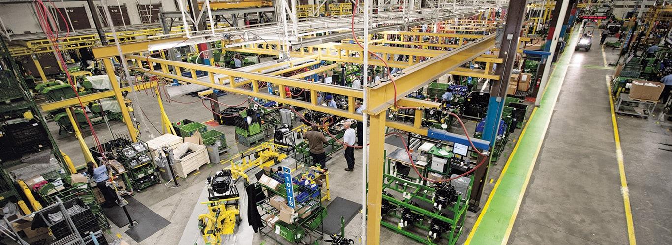 Werke in Augusta, Kompakttraktoren, Innenausstattung