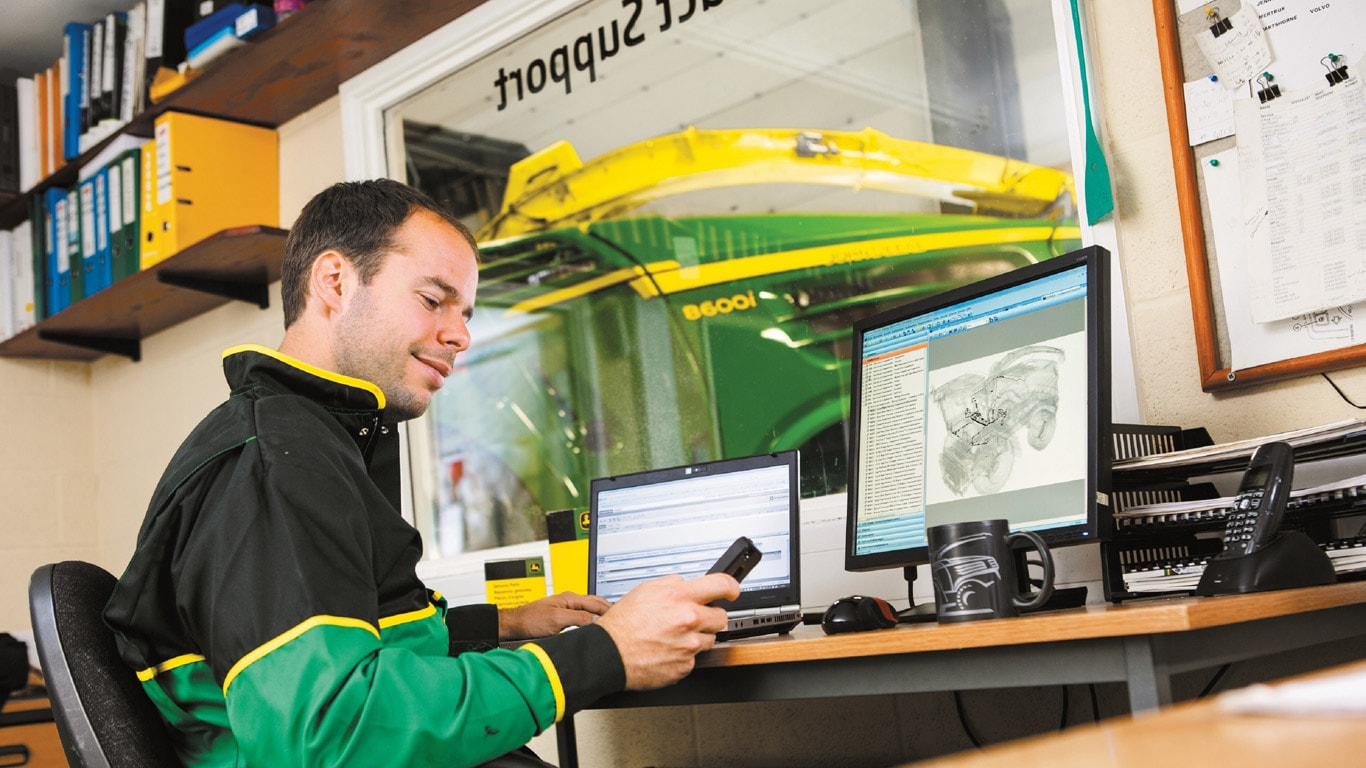 Silbermedaille für John Deere Connected Support