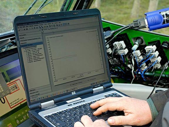 Eine regelmäßig durchgeführte Wartung garantiert den besten technischen Stand