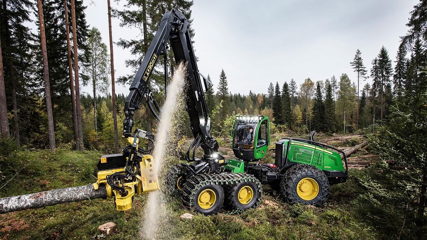 Ersatzteile für Forstmaschinen