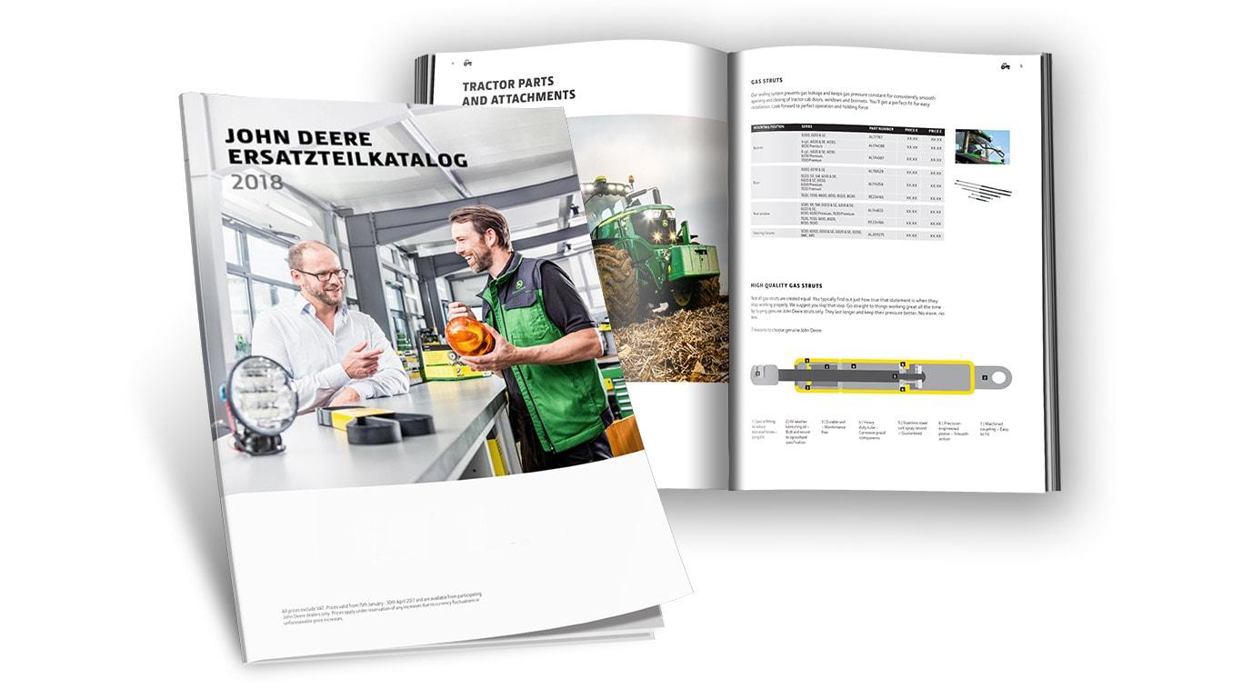 Ersatzteile und Kundendienst | John Deere DE