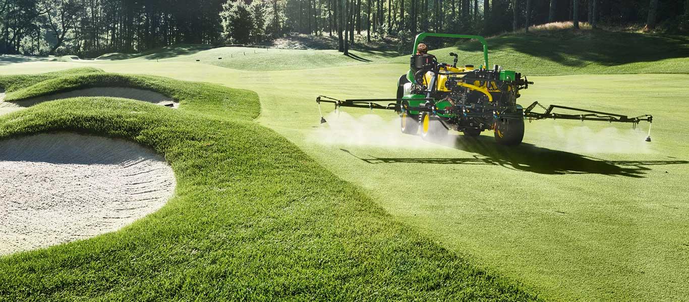 Pflanzenschutzspritze, Golf und Sport
