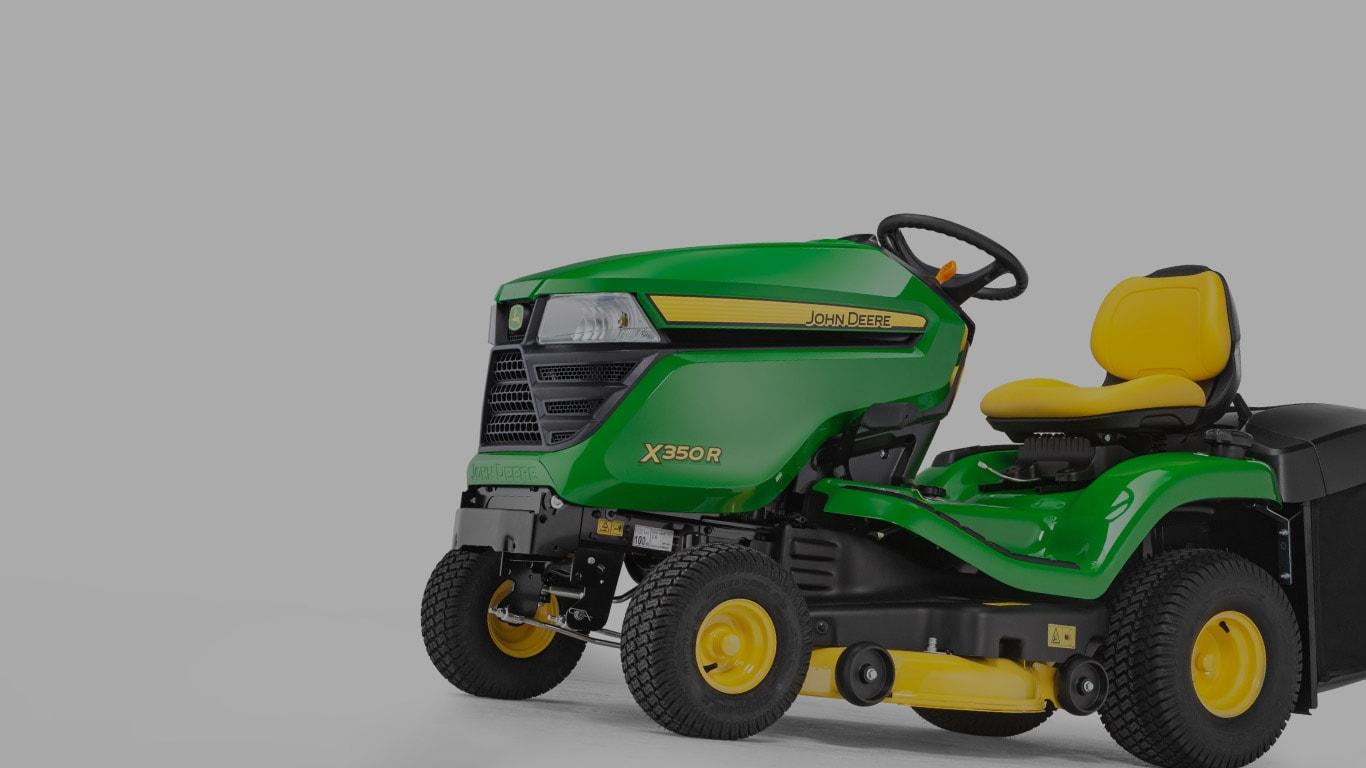 X350R, Rasentraktoren, Aufsitz-Rasenpflegemaschinen, Serie X300, Produktauswahl
